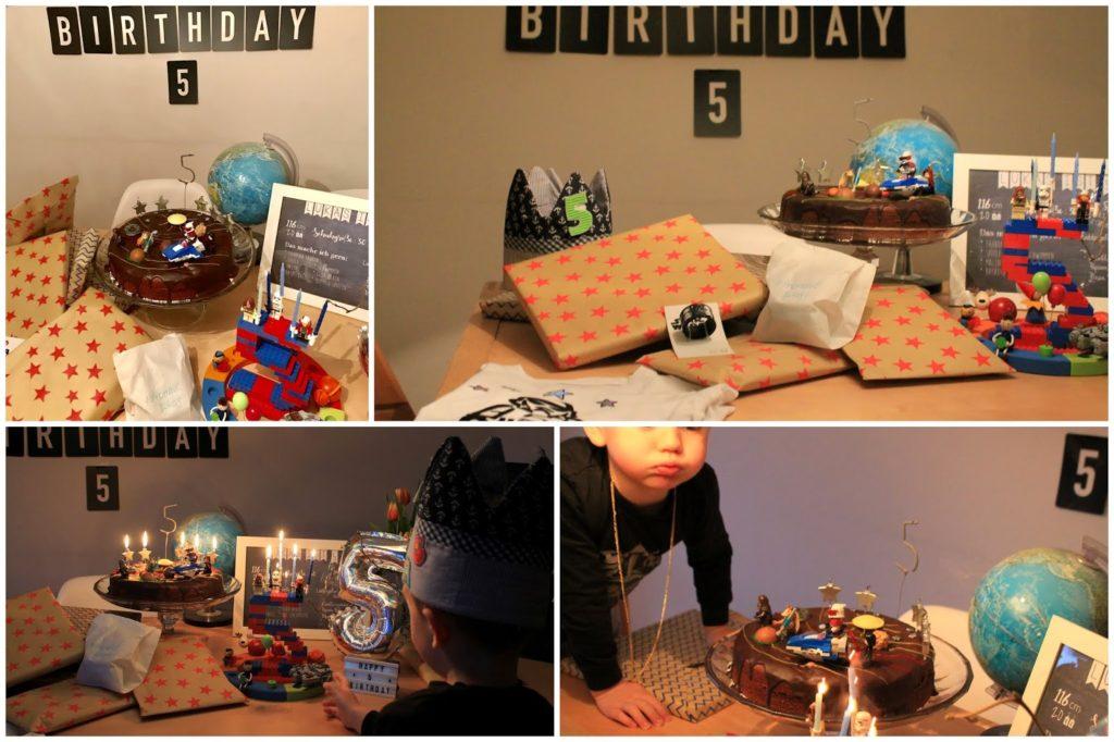 Geburtstagstisch Geburtstgasmorgen Aussendeko Geburtstagszahl LEGO Sterne Meteoriten suchen Deko Weltraum Kindergeburtstag LEGO Star Wars Jules kleines Freudenhaus