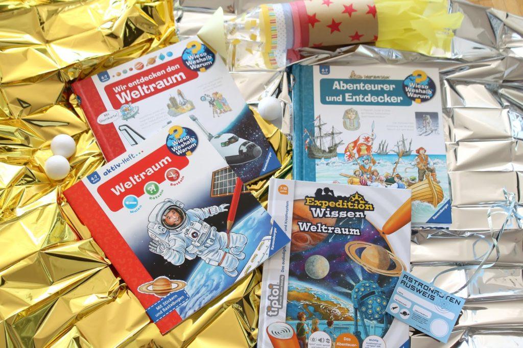 Buchtipps Weltraum Astronauten Entdecker Kindergeburtstag Party Verlosung Jules kleines Freudenhaus