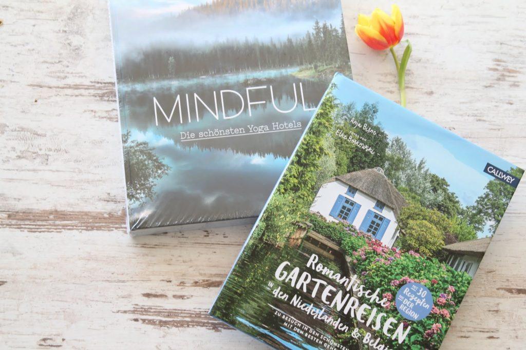 Buchtipps Fruehling MINDFUL und Gartenreisen Neiderlande Belgien Jules kleines Freudenhaus