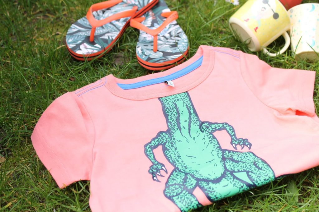 Trendfarbe Pantone Living Coral 2019 Shirts fuer Jungs Jules kleines Freudenhaus