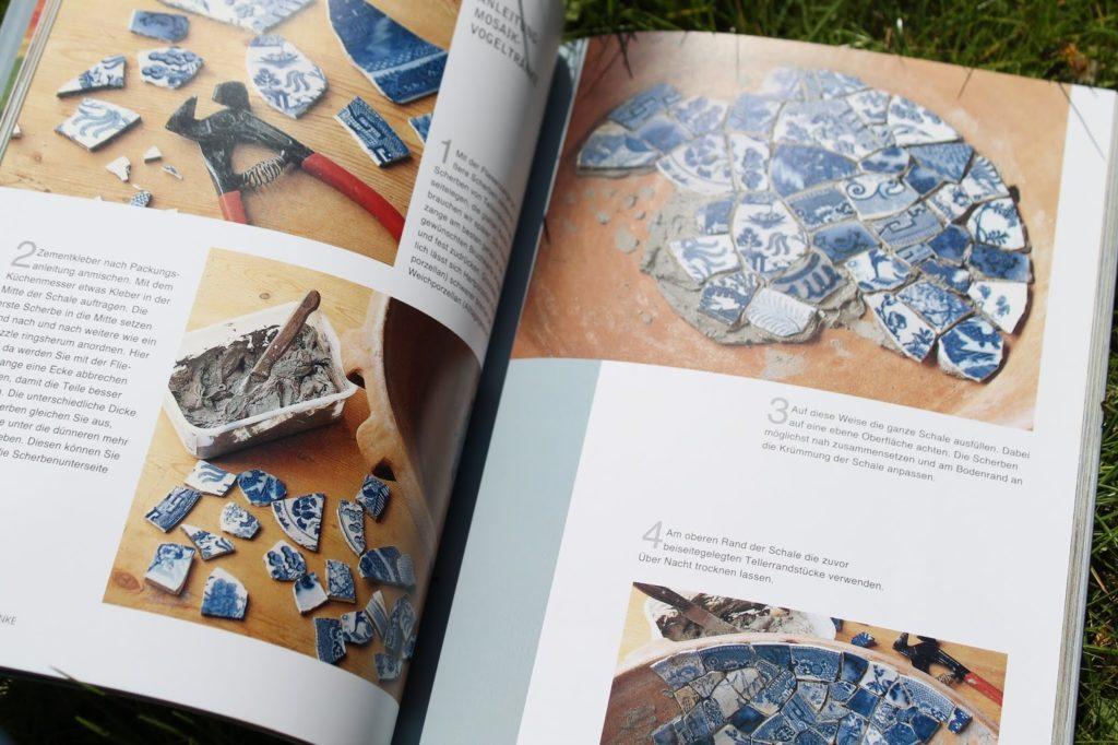 Innenteil DIY Mosaik der dekorierte Garten Buchtipp LV Buch Verlag Jules kleines Freudenhaus inkl Verlosung