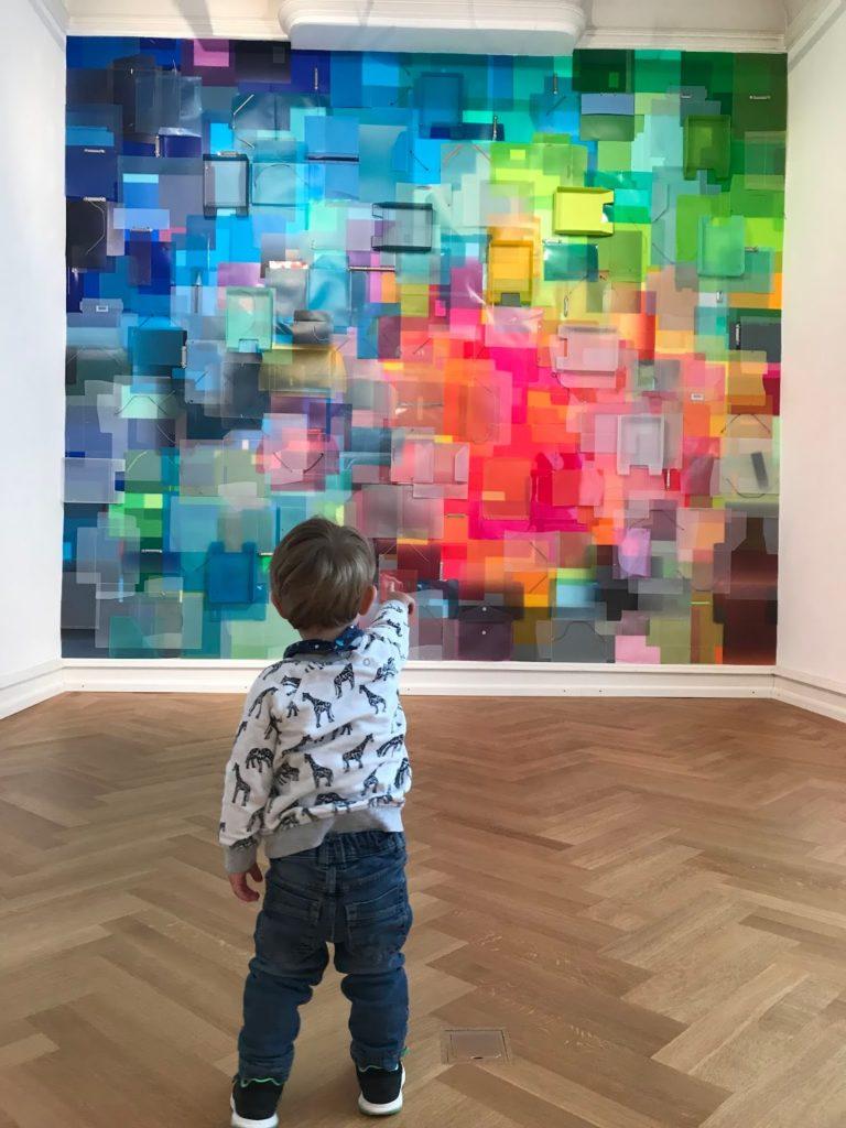 Mit Baby ins Museum Ausstellung TIna Haase Jules kleines Freudenhaus