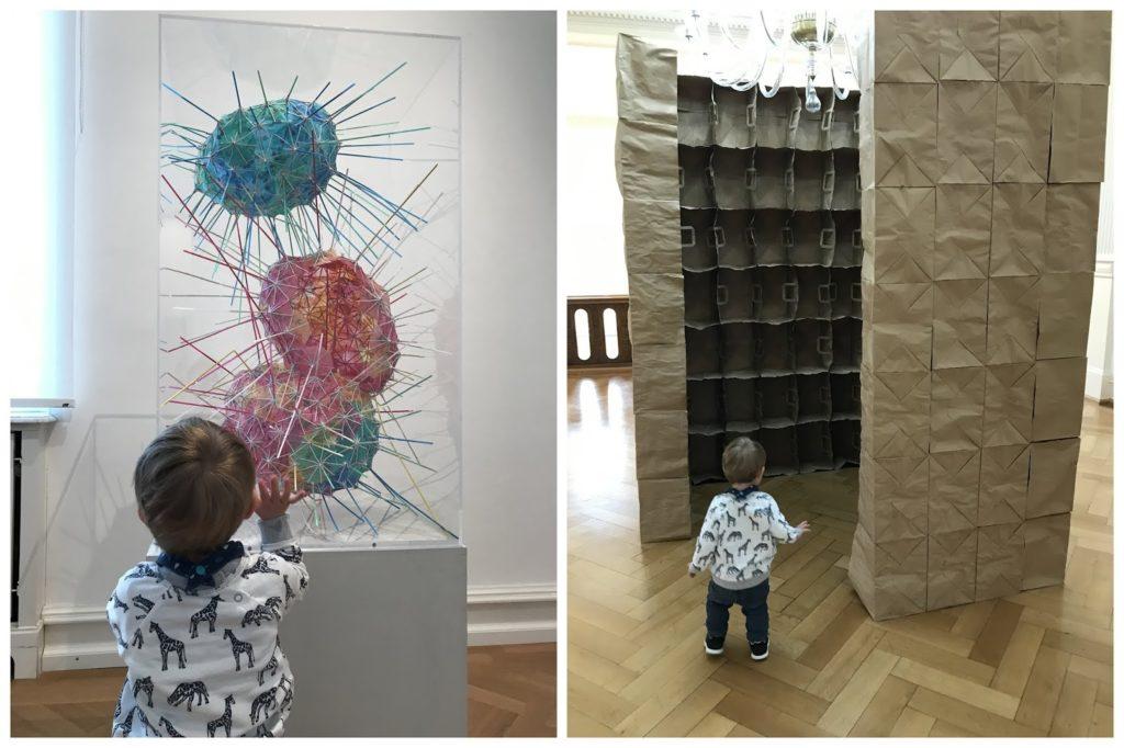 Villa Zanders Mit Baby ins Museum Ausstellung TIna Haase Jules kleines Freudenhaus