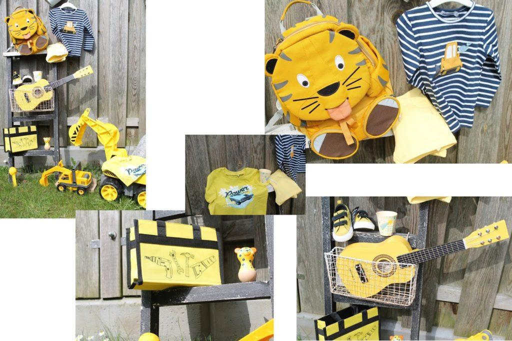Trendfarben gelb Moodboard Auswahl tausendkind fuer Jungs Jules kleines Freudenhaus