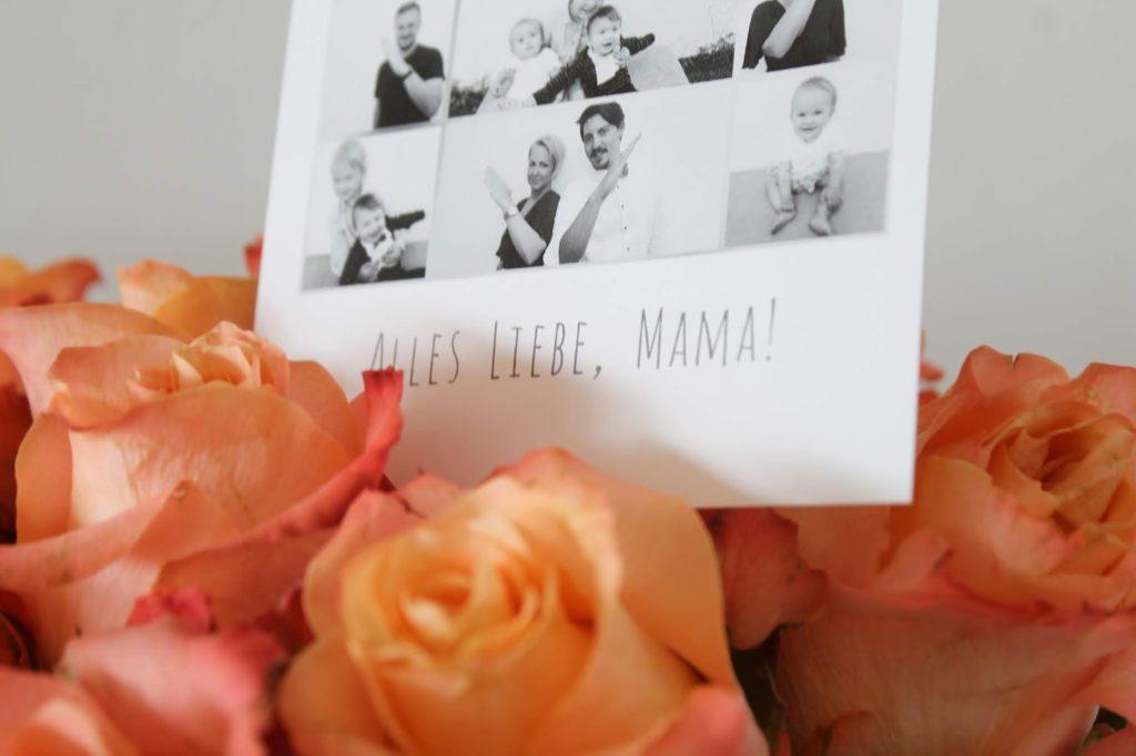 Herzcollage Foto DIY Flowerbox Geschenkidee Muttertag JGA Hochzeit Rosen Jules kleines Freudenhaus