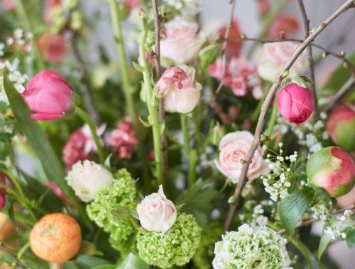 Blumen Glueckspaket