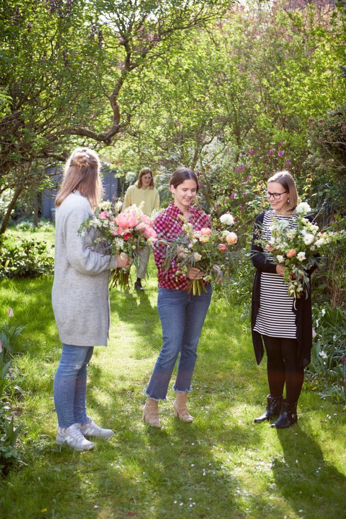 Im Garten Meine Blumen und ich Jules kleines Freudenhaus