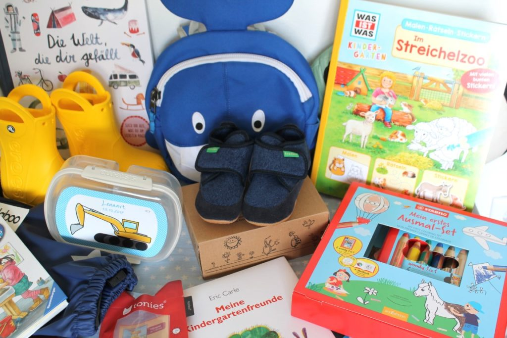 Was braucht man fuer den Kindergarten? Tipps Gedanken Kindergarten Start Kita-Start Liste Jules kleines Freudenhaus
