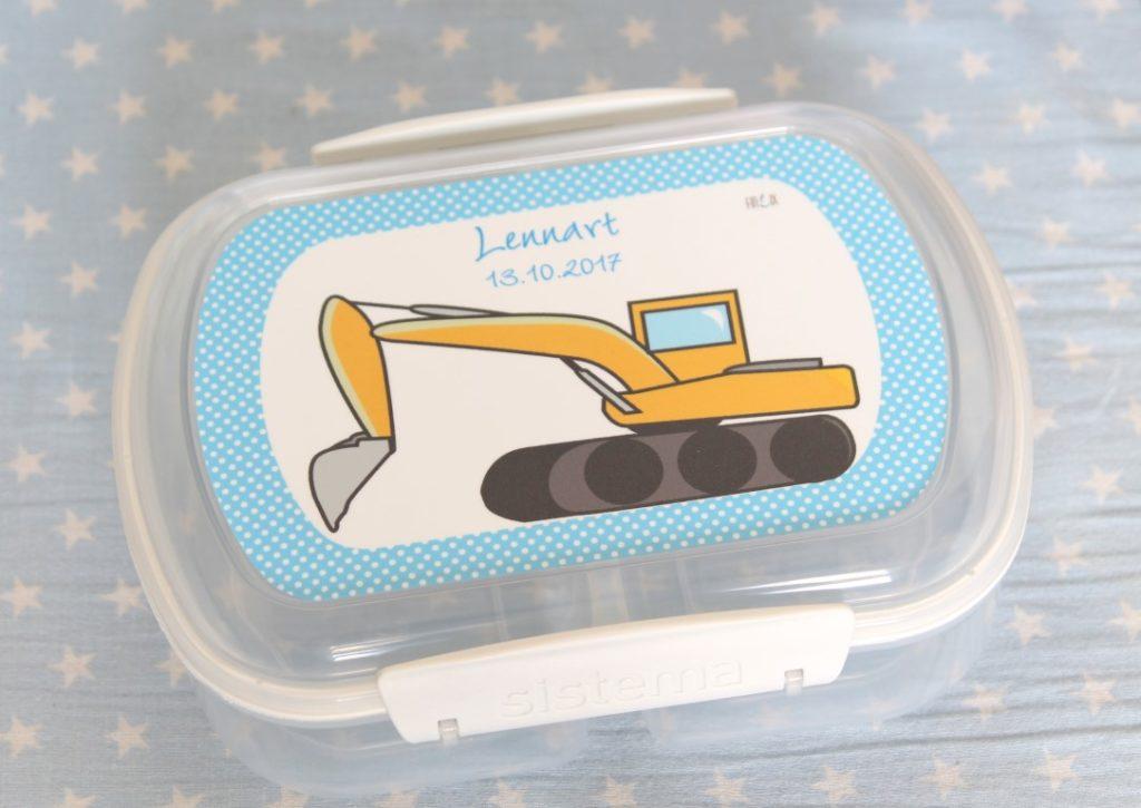 Personalisierte Brotdose Geschenkidee Kindergarten Tipps Jules kleines Freudenhaus