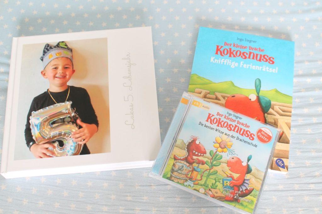 Vorschulkind Fotobuch Geschenkidee Kindergarten Drache Kokosnuss Witze Jules kleines Freudenhaus