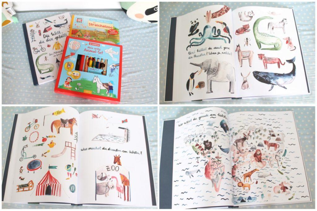 Buch Die Welt die dir gefaellt Sarah Neuendorf Geschenkidee Kindergarten Start Kita-Start Jules kleines Freudenhaus
