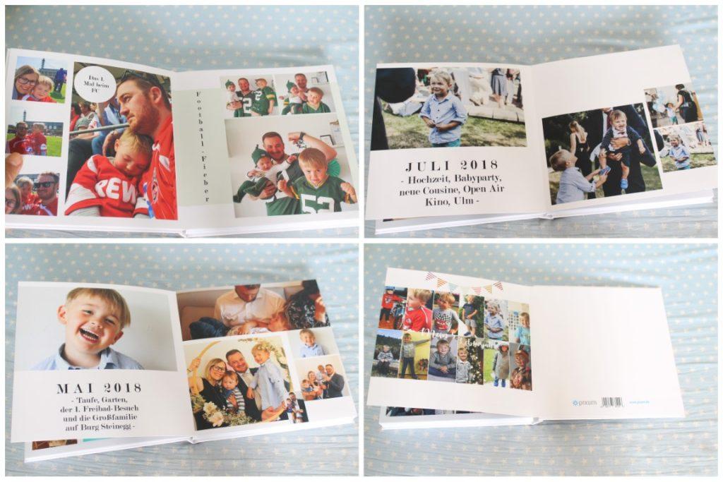 Vorschulkind Fotobuch Geschenkidee Kindergarten Jules kleines Freudenhaus