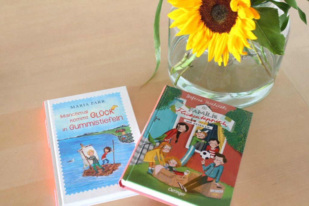 Kinderbuchtipps neue Titel Gummistiefel familie Flickenteppich Oetinger Verlag Jules kleines Freudenhaus