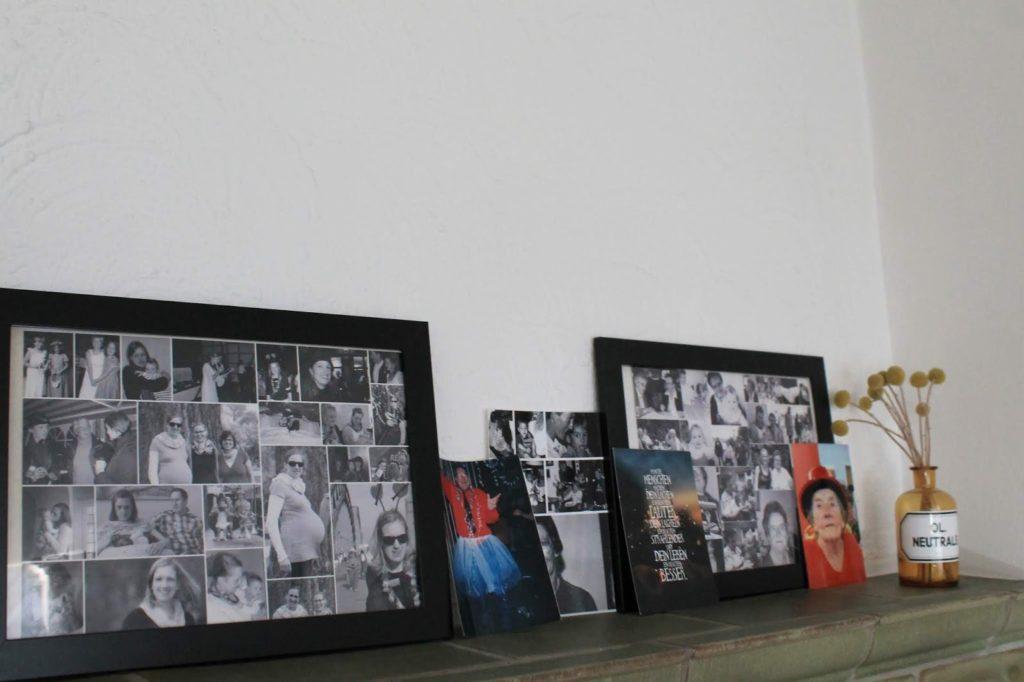Erinnerungswand Bildergalerie Erinnerungskiste basteln mit Kindern trauern ueber den Tod sprechen Jules kleines Freudenhaus