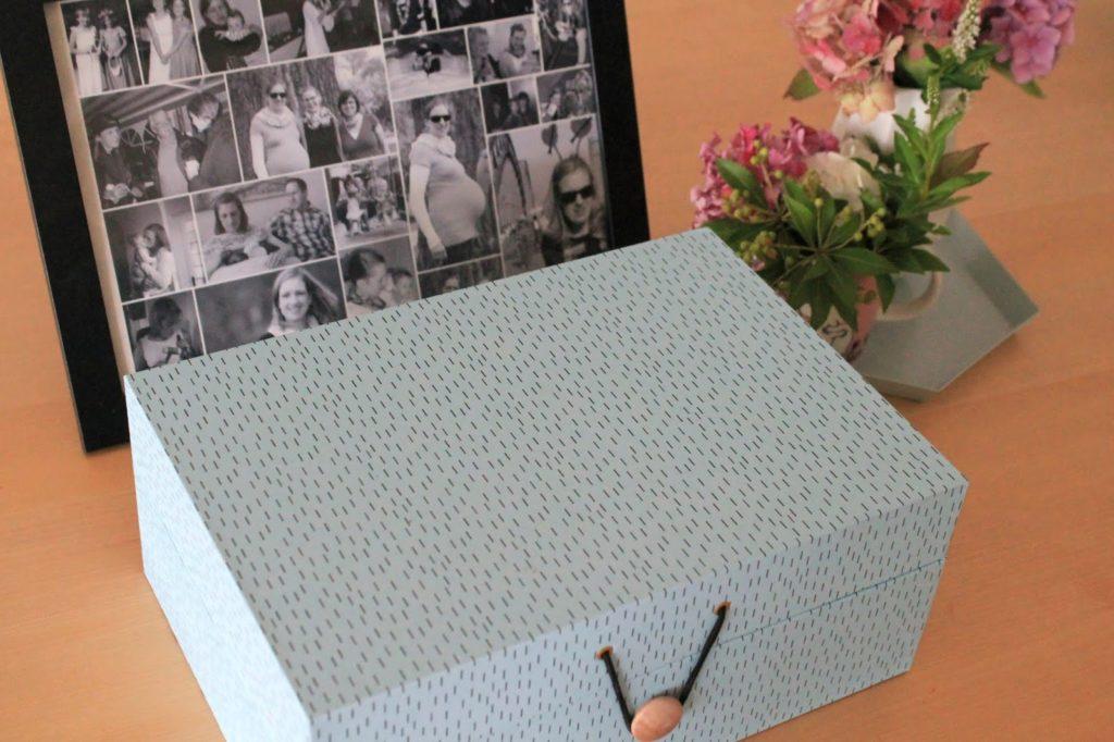 Unsere Kiste Erinnerungskiste basteln mit Kindern trauern ueber den Tod sprechen Jules kleines Freudenhaus