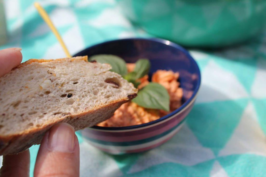 Mittagessen draussen Picknickideen Sommerkueche draussen mit Kindern Jules kleines Freudenhaus