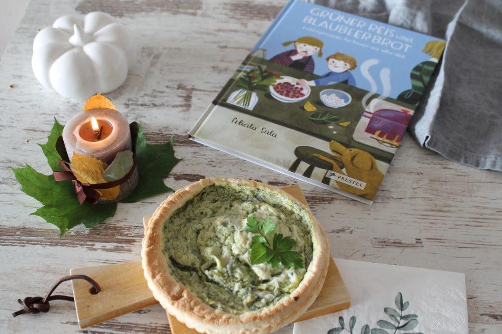 Gruener Reis und Blaubeerbrot Kinderkochbuch Jules kleines Freudenhaus