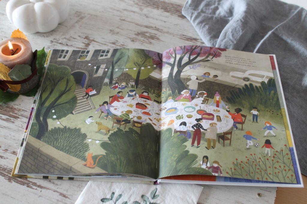 Innenteil Gruener Reis und Blaubeerbrot Kinderkochbuch Jules kleines Freudenhaus