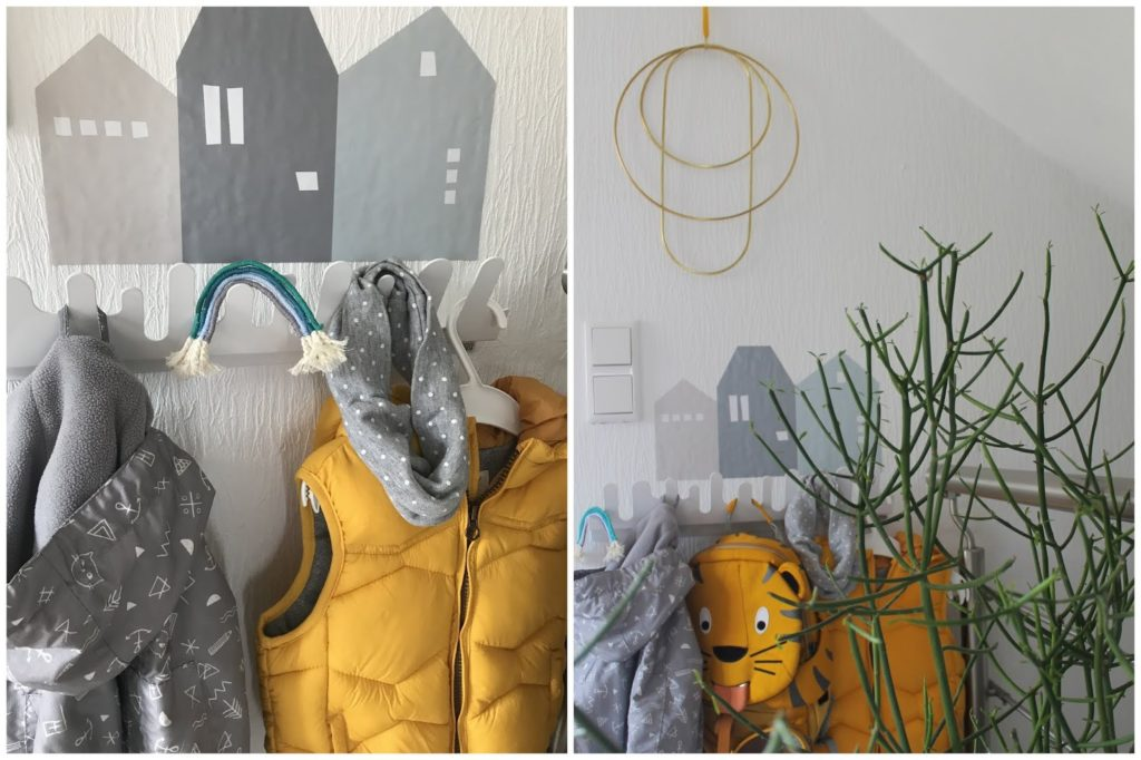 Ferm Living Limmaland Garderobe Design House Stockholm skandinavisches Design Garderobe Kinder Jules kleines Freudenhaus