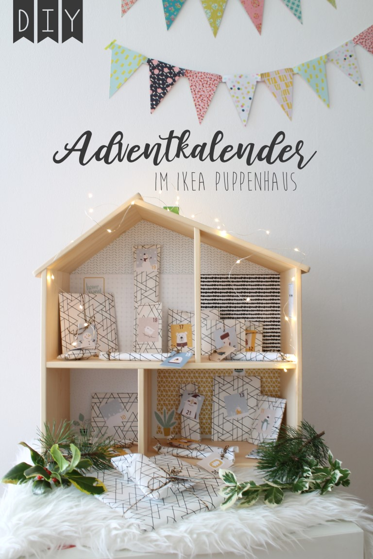 Adventskalender IKEA Puppenhaus