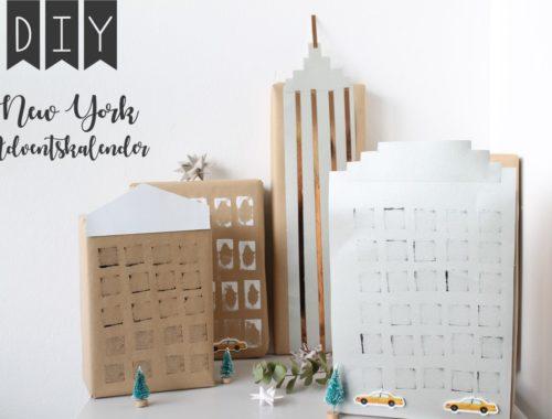 DIY New York Adventskalender Skyline