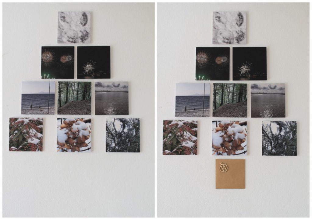 Pixum Squares Foto Tannenbaum