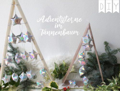 Adventskalender Sterne Tannen Bondex