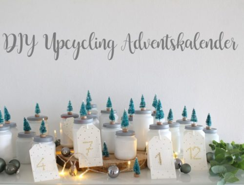 DIY Adventskalender Wald