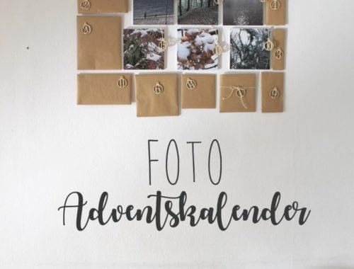DIY Foto Adventskalender mit Squares