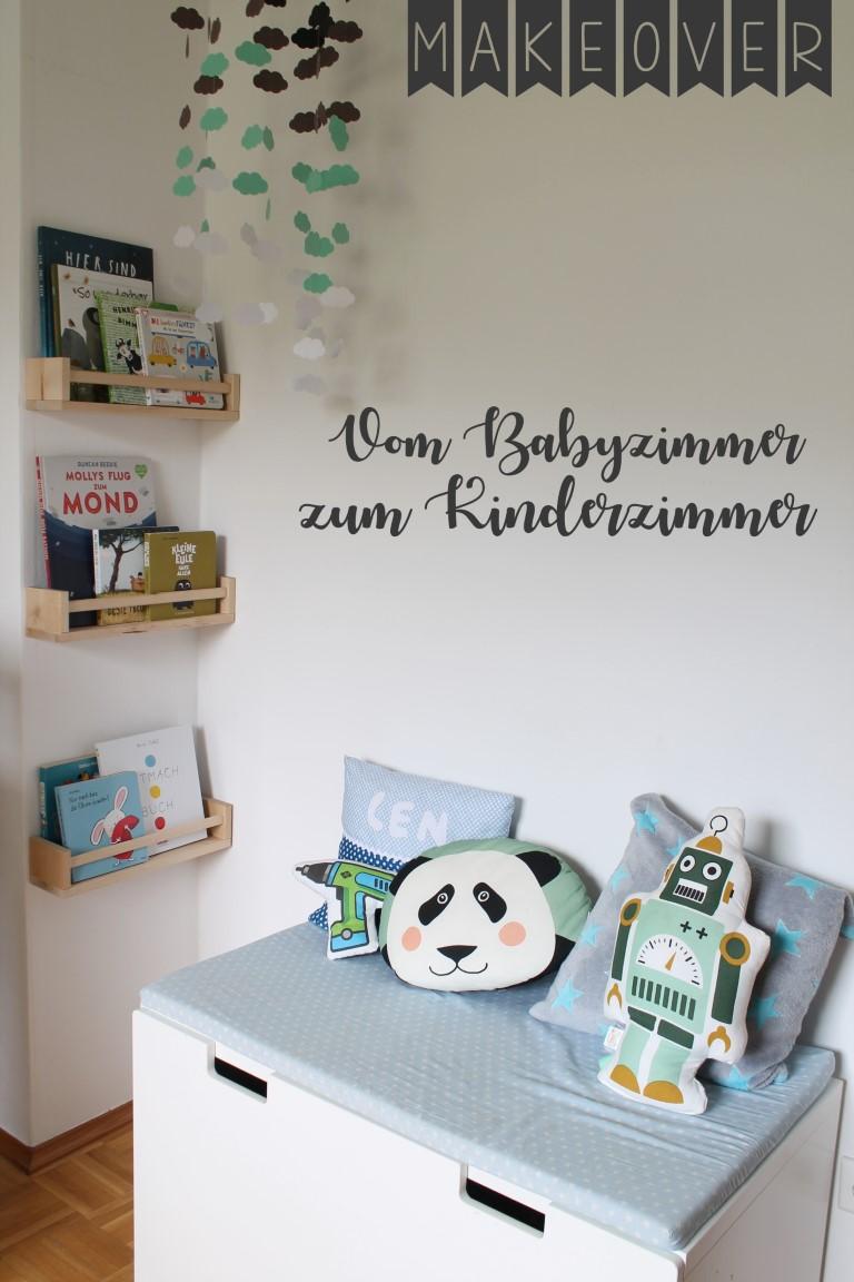 Kinderzimmer Makeover Hochbett