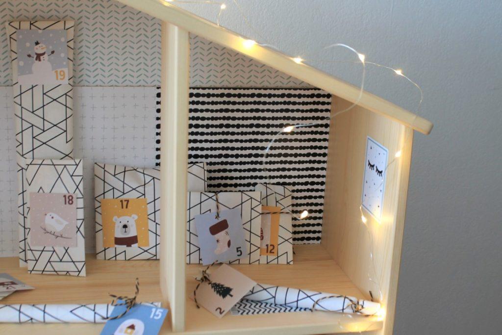 Holzpuppenhaus Weihnachten Jules kleines Freudenhaus