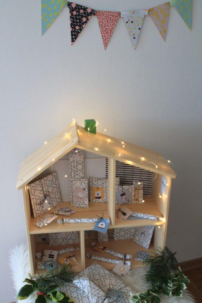 IKEA Hack Puppenhaus Adventskalender