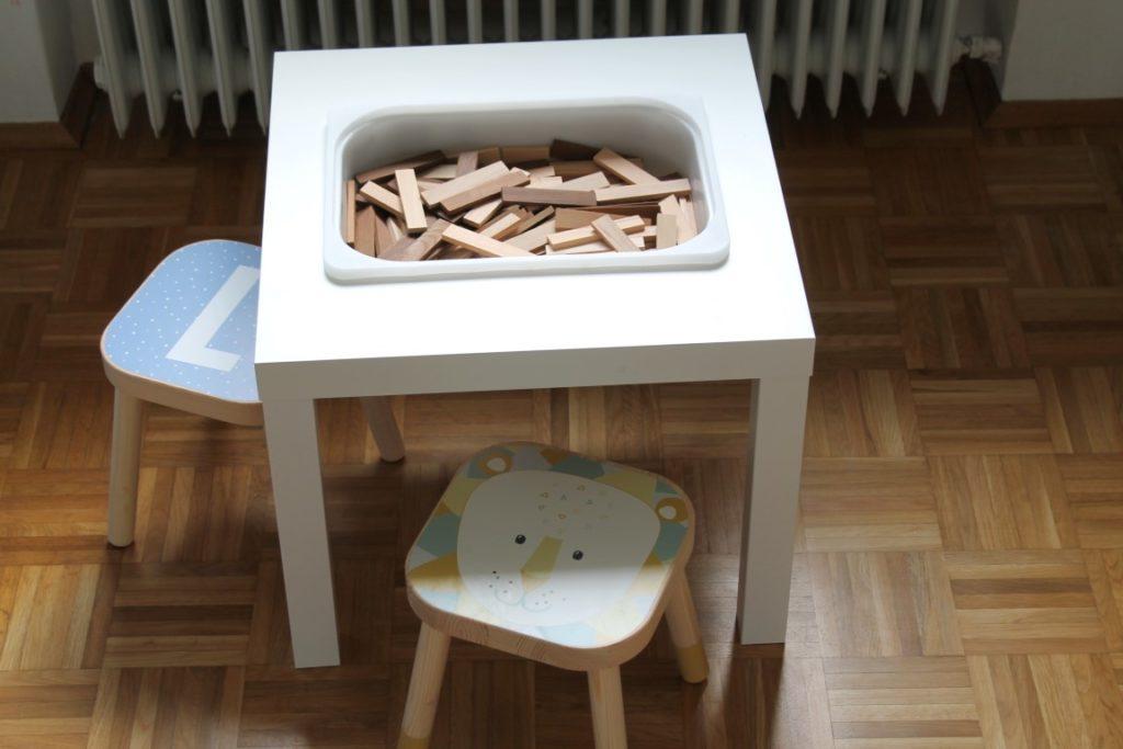 IKEA Hack Spieltisch