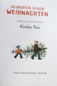 Weihnachtsbuch Kirsten Boie