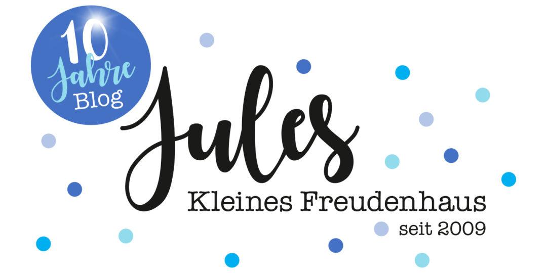 Logo 10 Jahre Jules kleines Freudenhaus