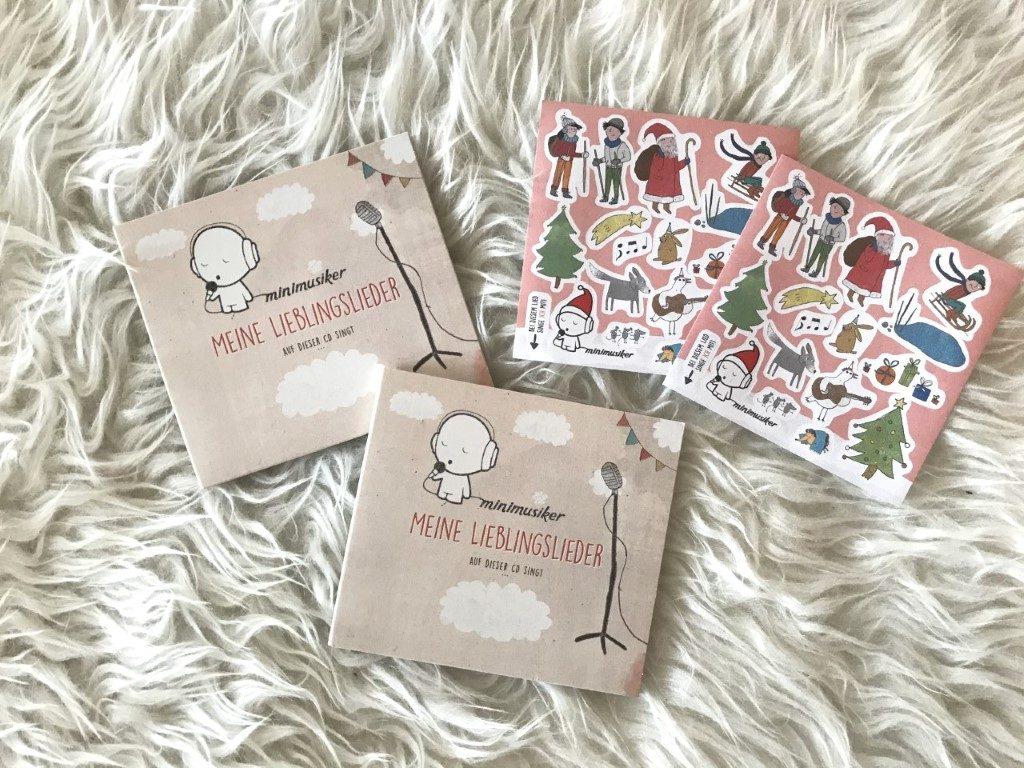 Unsere Minimusiker CD aus der Kita
