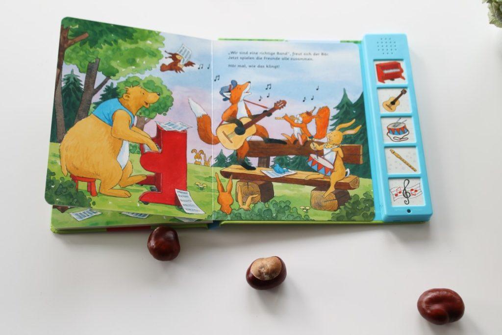 Musikbuch Musikbuch mit Tasten Minimusiker