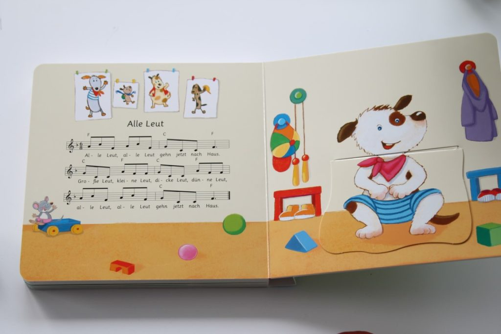 Musikbuch mit Klappen Minimusiker
