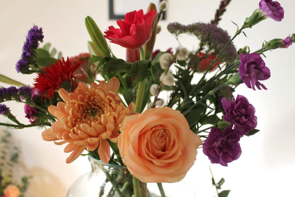 Blumen Bouquet Weihnachten bloomon