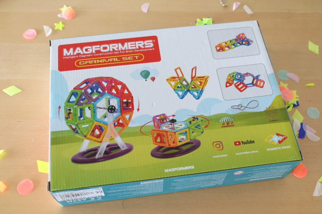 Magformers bauen Spielidee