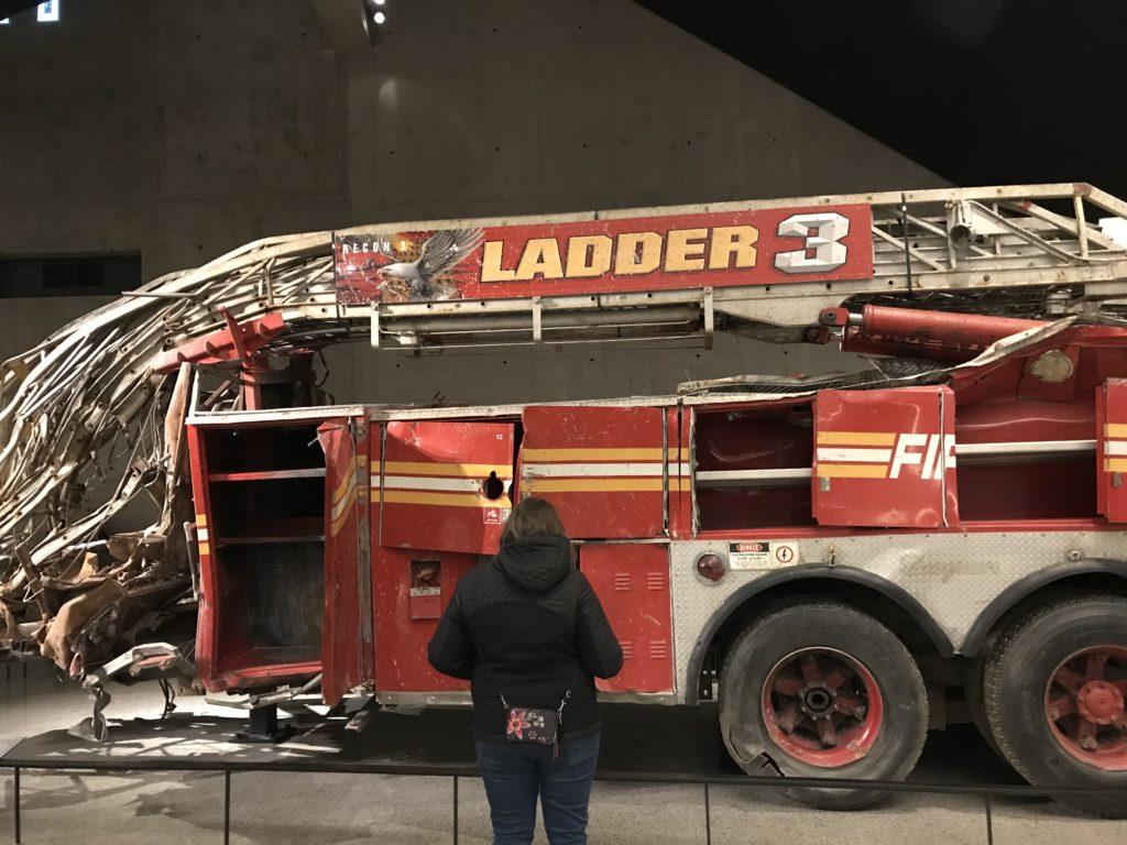 Firetruck Memorial Ground Zero
