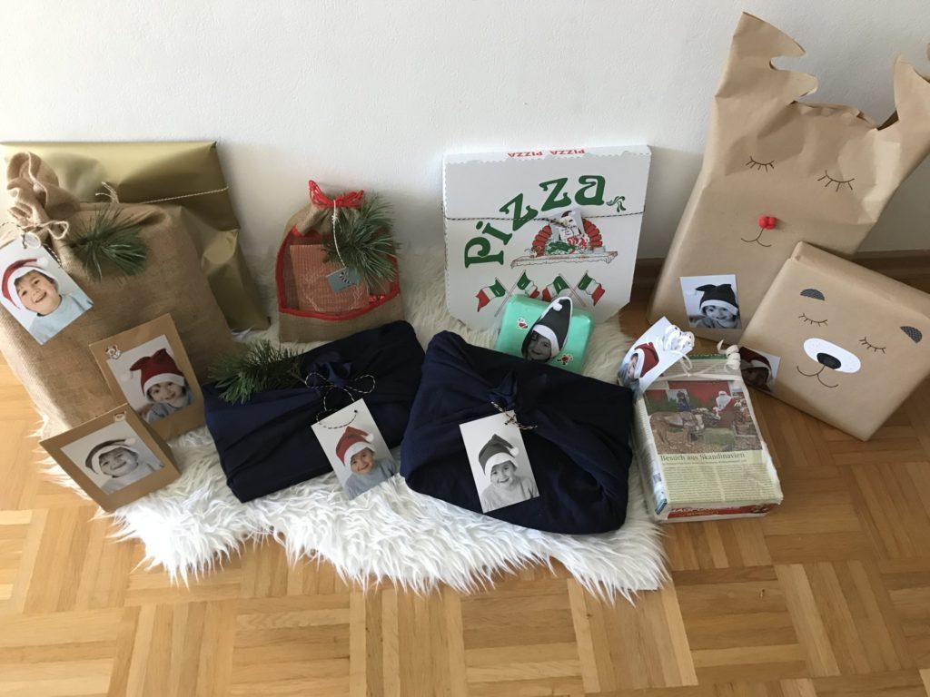 Geschenkverpackung müllfrei Upcycling