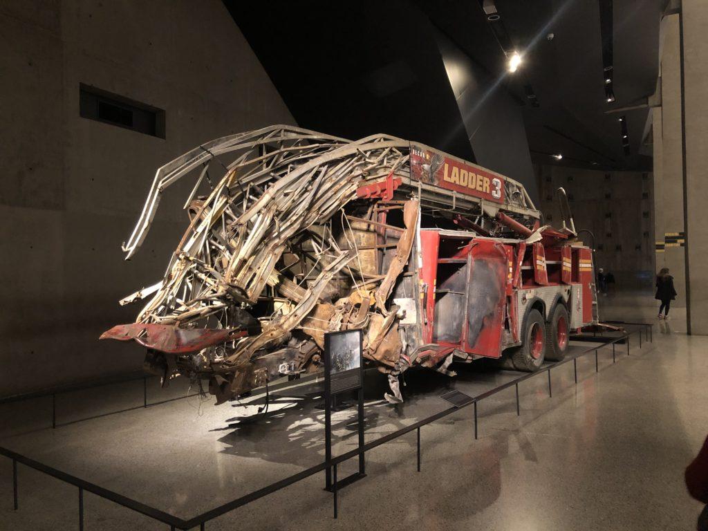 ground zero firetruck
