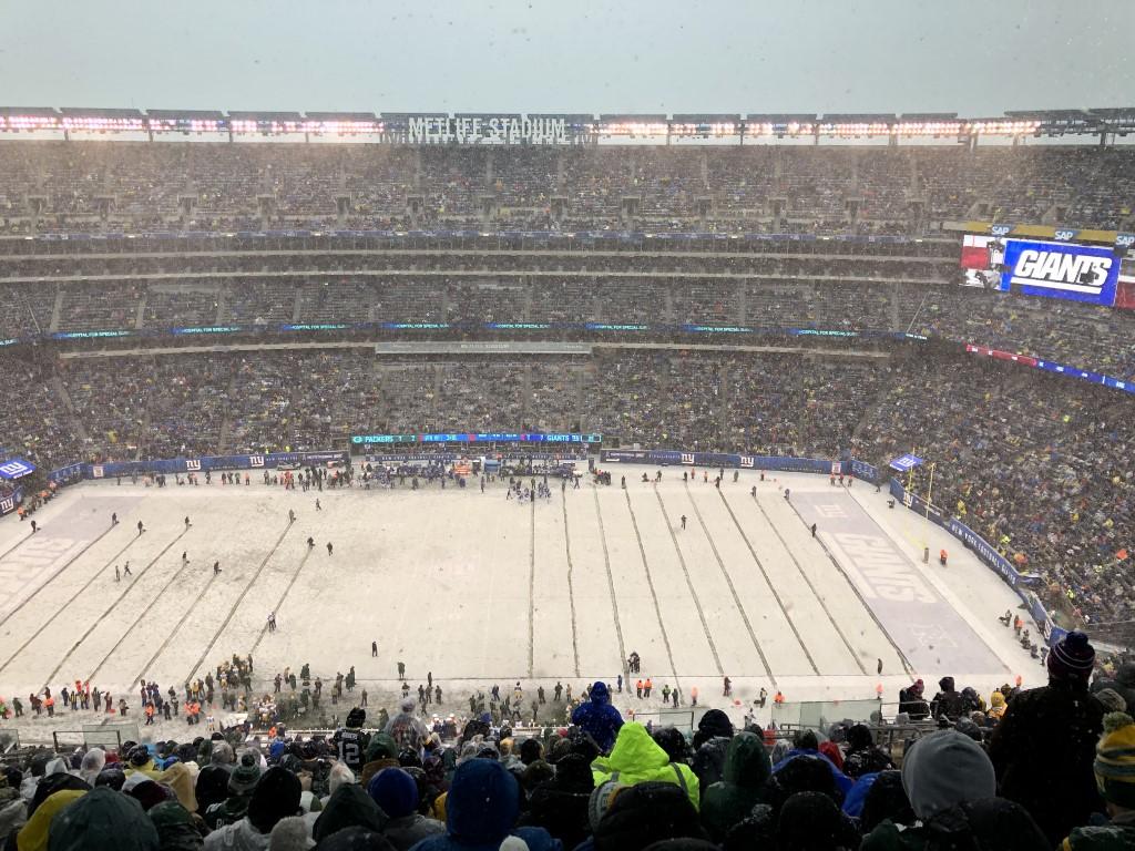 Metlife Stadium Football Packers Giants