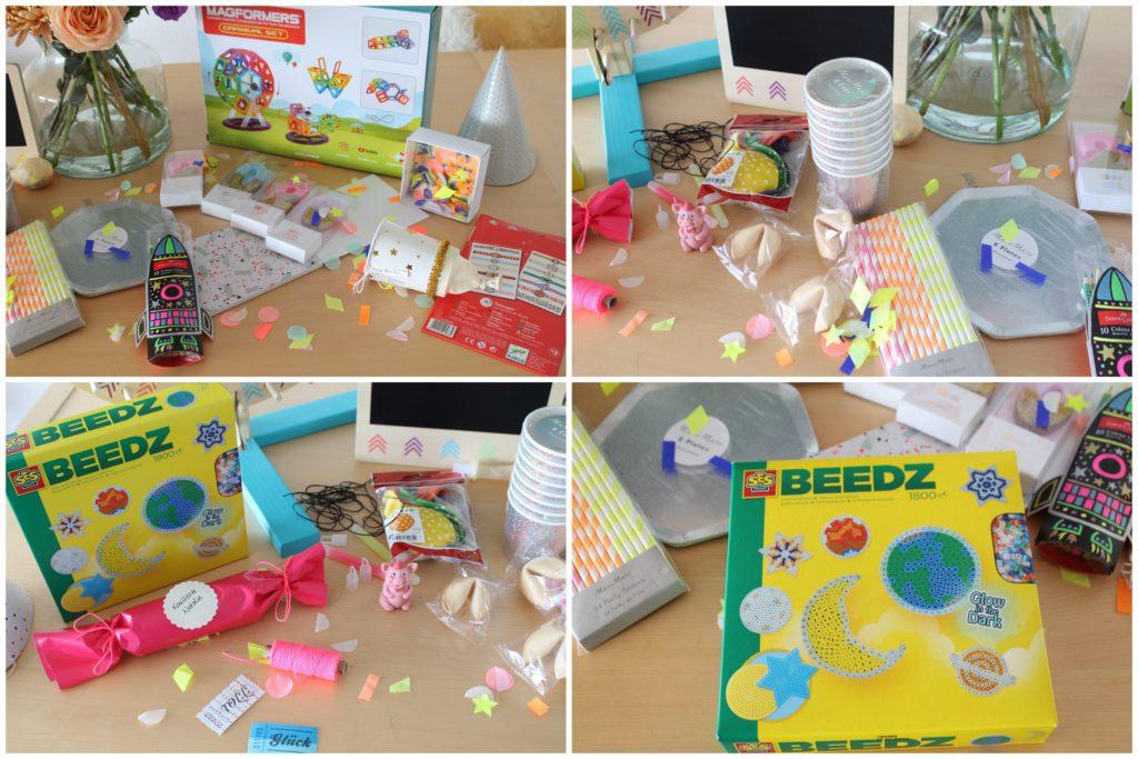 Silvester mit Kindern Material