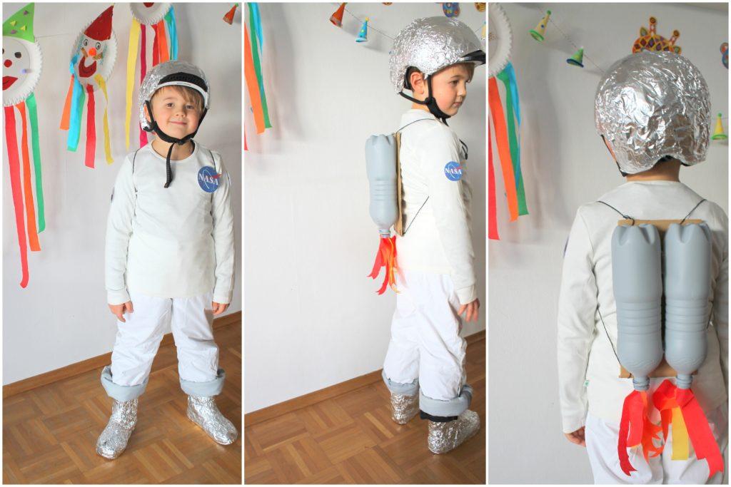 DIY Kostuem Astronaut Raumfahrer