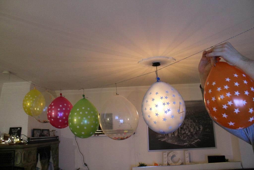 Countdown Ballons Silvester
