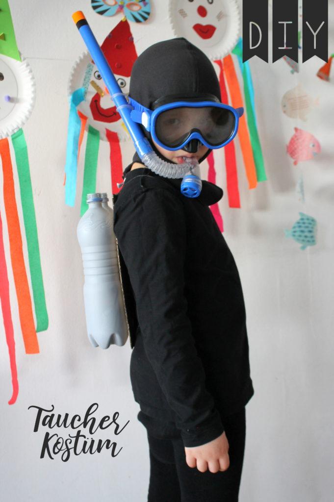 Taucher Kostüm DIY
