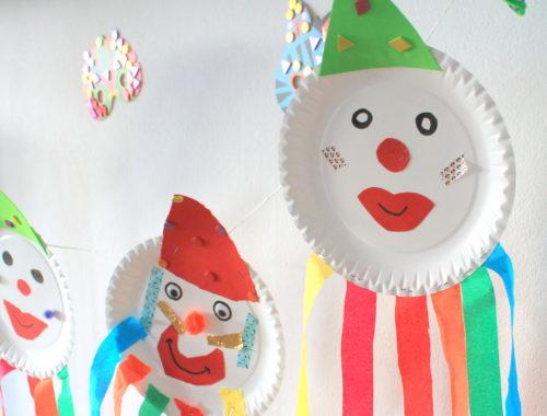 Partyclowns Karneval Zirkus Geburtstag