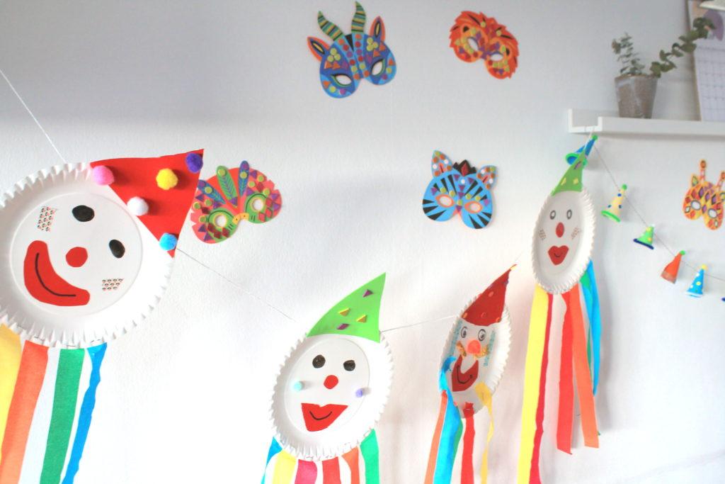 Clown_Karneval_Basteln